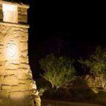 Low voltage landscape lighting at Summit Rock